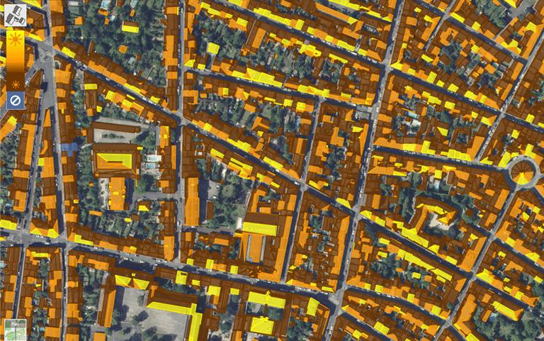cadastre solaire information geographique